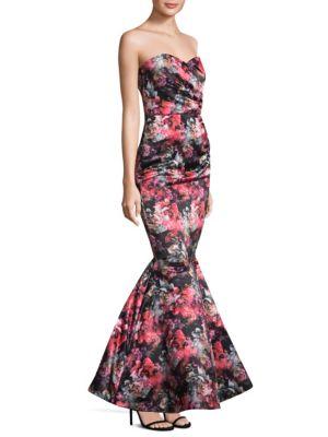 Graphic Holly Mermaid Dress