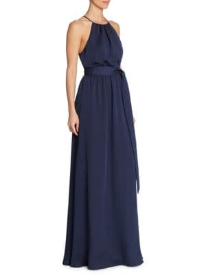 Roundneck Flowy Gown