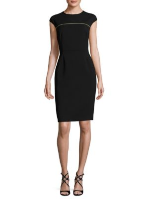 Dvas Wool Sheath Dress