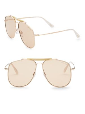 Connor 58MM Aviator Sunglasses