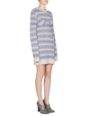 Wool Fair Isle Dress