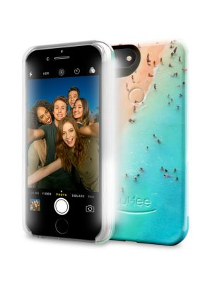 LUMEE Beach-Print iPhone Case