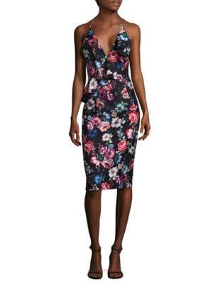 Leni Floral Dress