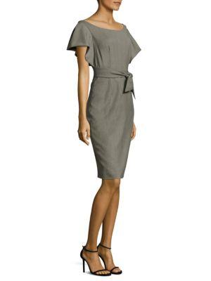Gabardine Dakota Sheath Dress