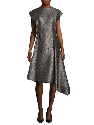 Wool Asymmetric Dress
