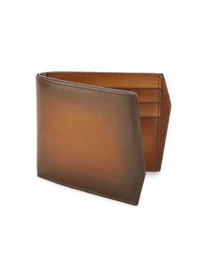 Peter Classic Leather Bi-Fold Wallet