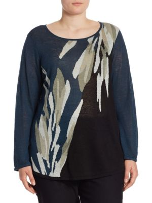 Wild Thyme Top by NIC+ZOE Plus
