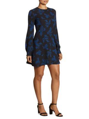 Lauren Printed Silk Dress