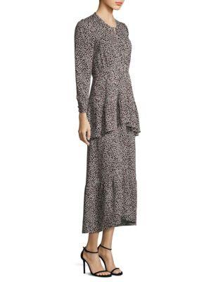 Zandra Leopard Dress