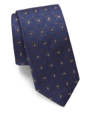 Mini Paisley Silk Tie
