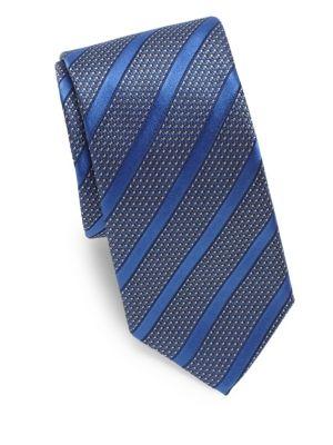 Dots & Stripes Silk Tie