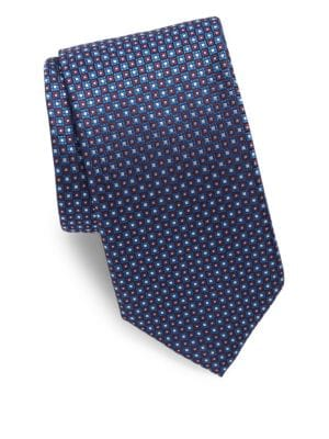 Mini Square Silk Tie