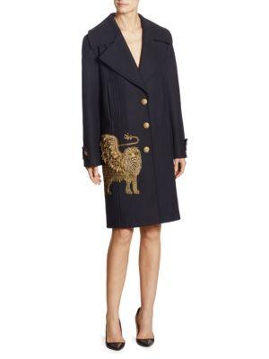 Wool Lion Coat