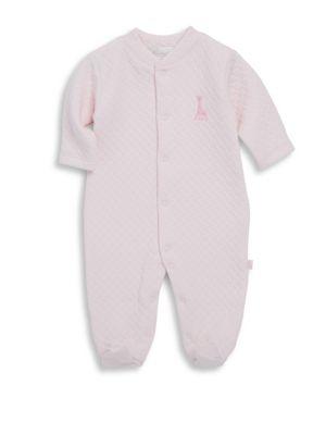 Baby Girl's Sophie La Girafe Cotton Footie