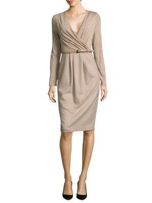 Narsete Wool Wrap Dress