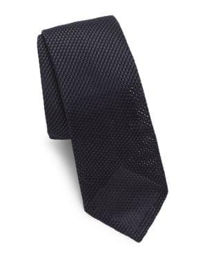 Woven Texture Silk Tie