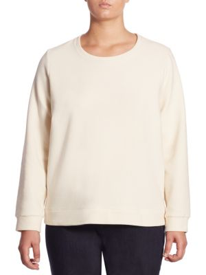 Leisure Roundneck Top by Eileen Fisher, Plus Size