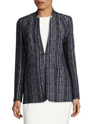 Bonnie Embellished Tweed Jacket by Elie Tahari