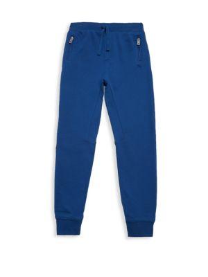 Little Boy's & Boy's Elasticized Cotton Pants