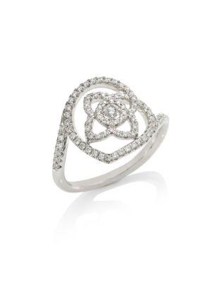Enchanted Lotus Diamond Ring