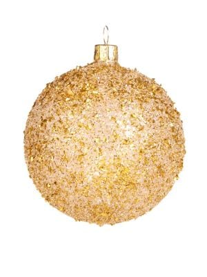 Foil Ball Ornament