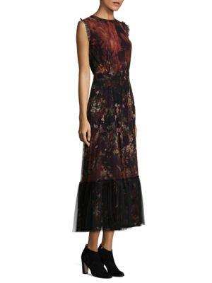 SL Floral Sleeveless Dress