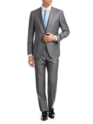 COLLECTION BY SAMUELSOHN Plaid Suit