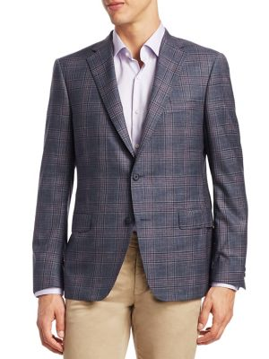COLLECTION Plaid Wool Sportcoat