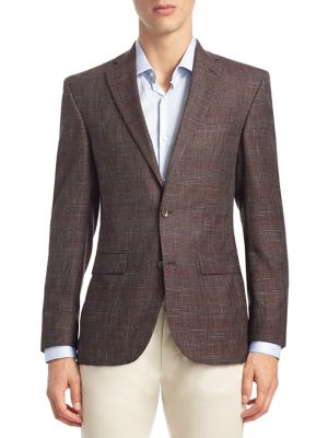 COLLECTION Textured Wool Sportcoat