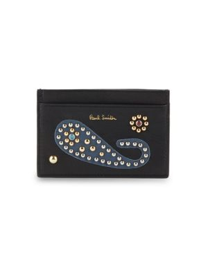 Studded Leather Card Slot