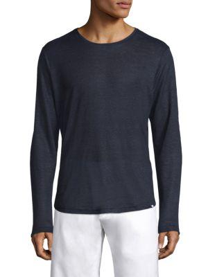Minimalistic Long Sleeve Linen Shirt