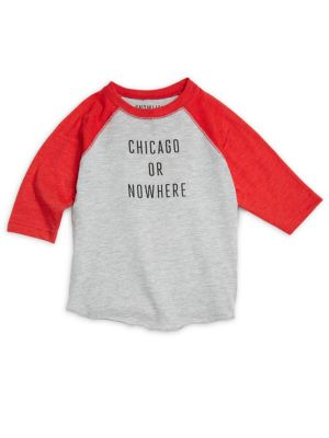 Toddler's & Kid's Chicago or Nowhere Cotton Graphic Tee
