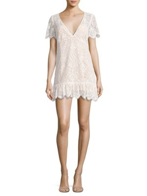 Lily Lace Tee Dress