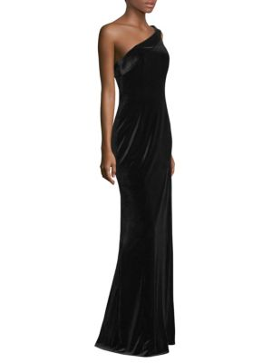 Dolan One-Shoulder Gown