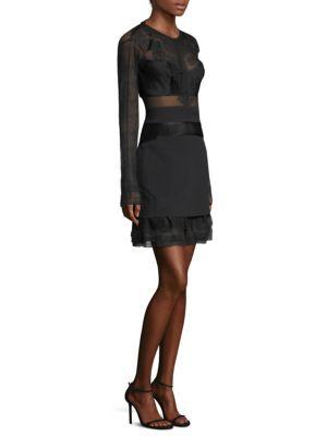 Bonjour Mesh A-Line Dress