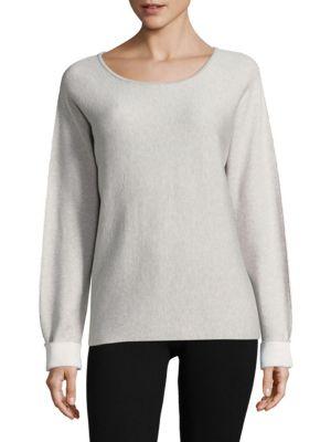 Scoopneck Pullover Sweater