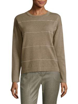 Chain Stripe Sweater