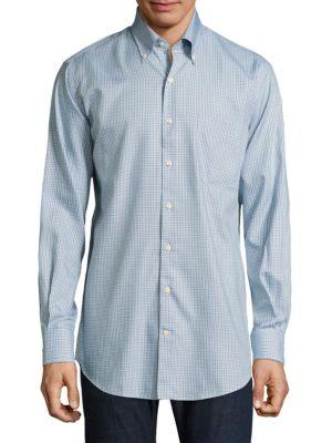 Crown Soft Plaid Shirt