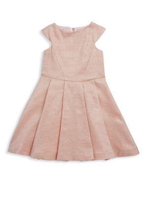 Toddler's & Little Girl's Shiny Blush Dress