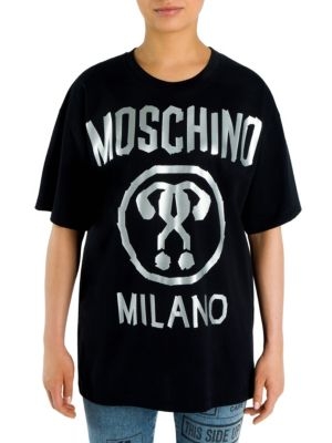 Electrical Tape Tee by Moschino