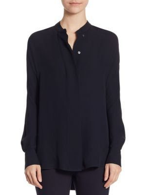 Perfect Dolman Silk Blouse by Theory