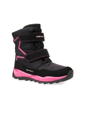 Toddler's & Girl's Waterproof Boots