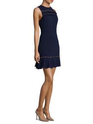 Ruffle Flounce A-Line Dress
