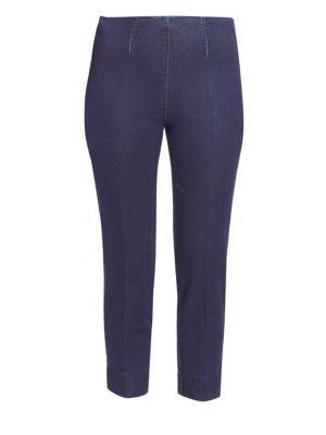 Audrey High-Rise Cropped Denim Pants