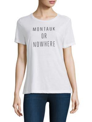Montauk Or Nowhere Short-Sleeve Tee