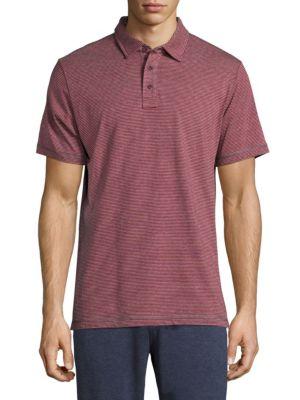 Short-Sleeve Stripe Polo