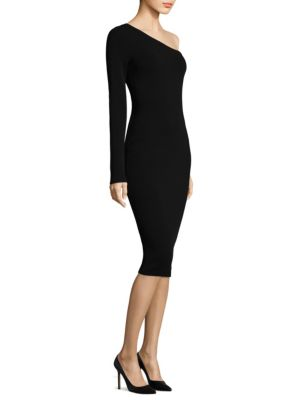Buy Diane von Furstenberg One Shoulder Knit Dress online with Australia wide shipping