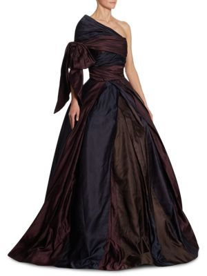 One-Shoulder Ball Gown