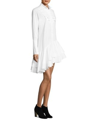 Super Human Cotton Shirtdress