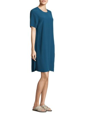 Roundneck Knee-Length Dress